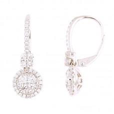 Orecchini con diamanti - 100480EW