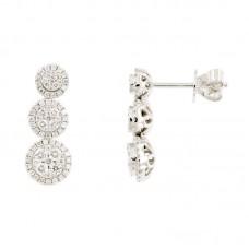 Orecchini con diamanti - 101072EW