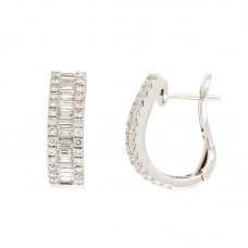 Orecchini con diamanti - 12504EW