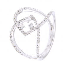 Anello con diamanti  - 270430RW
