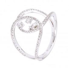 Anello con diamanti  - 270440RW