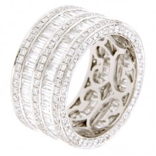 Anello con diamanti - 5876RW
