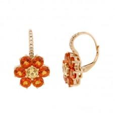 Orecchini con diamanti e pietre naturali - EY10665A-3004
