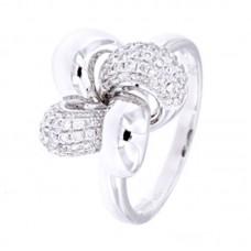 Anello con diamanti  - R38964-14